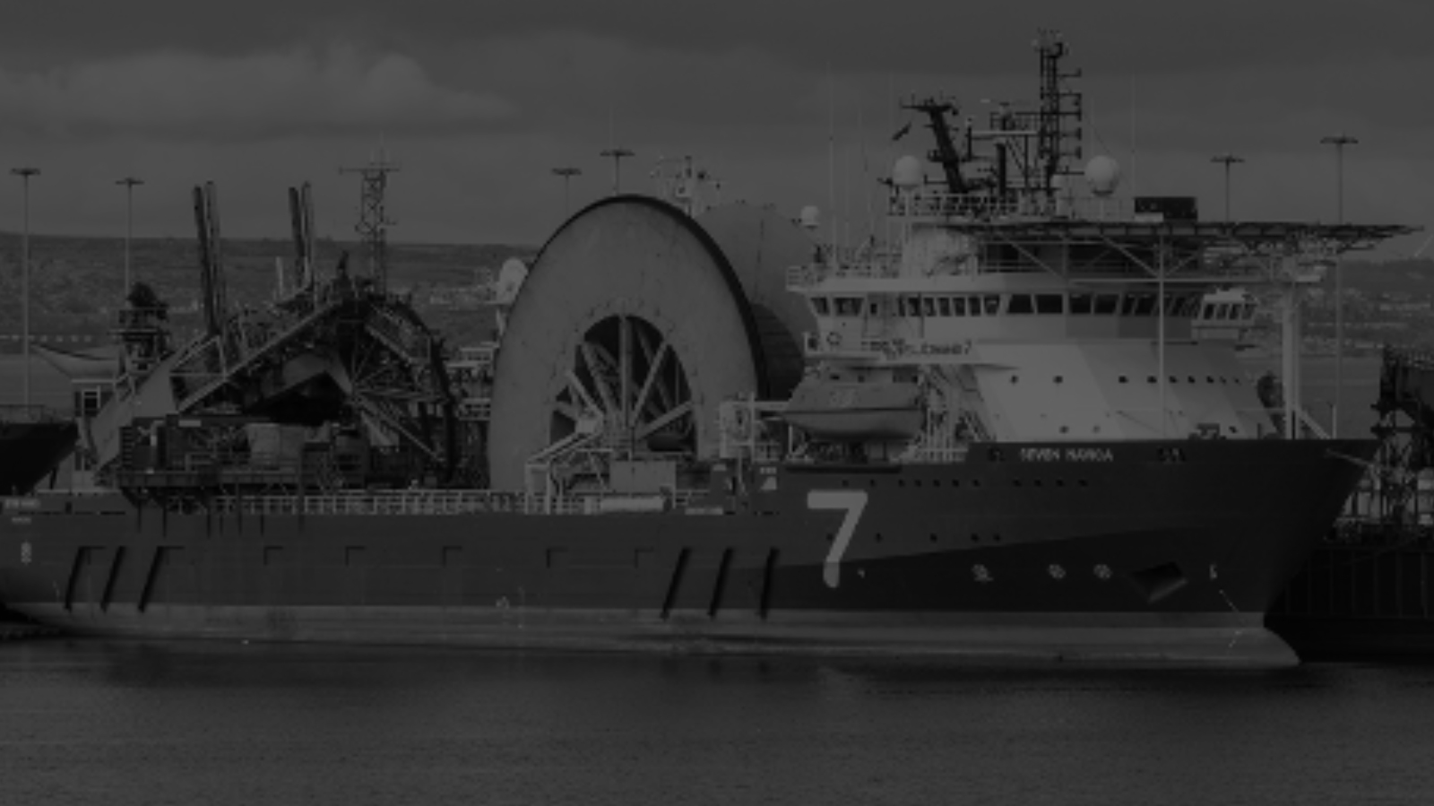 DROPS remedial survey onboard a pipe-lay vessel