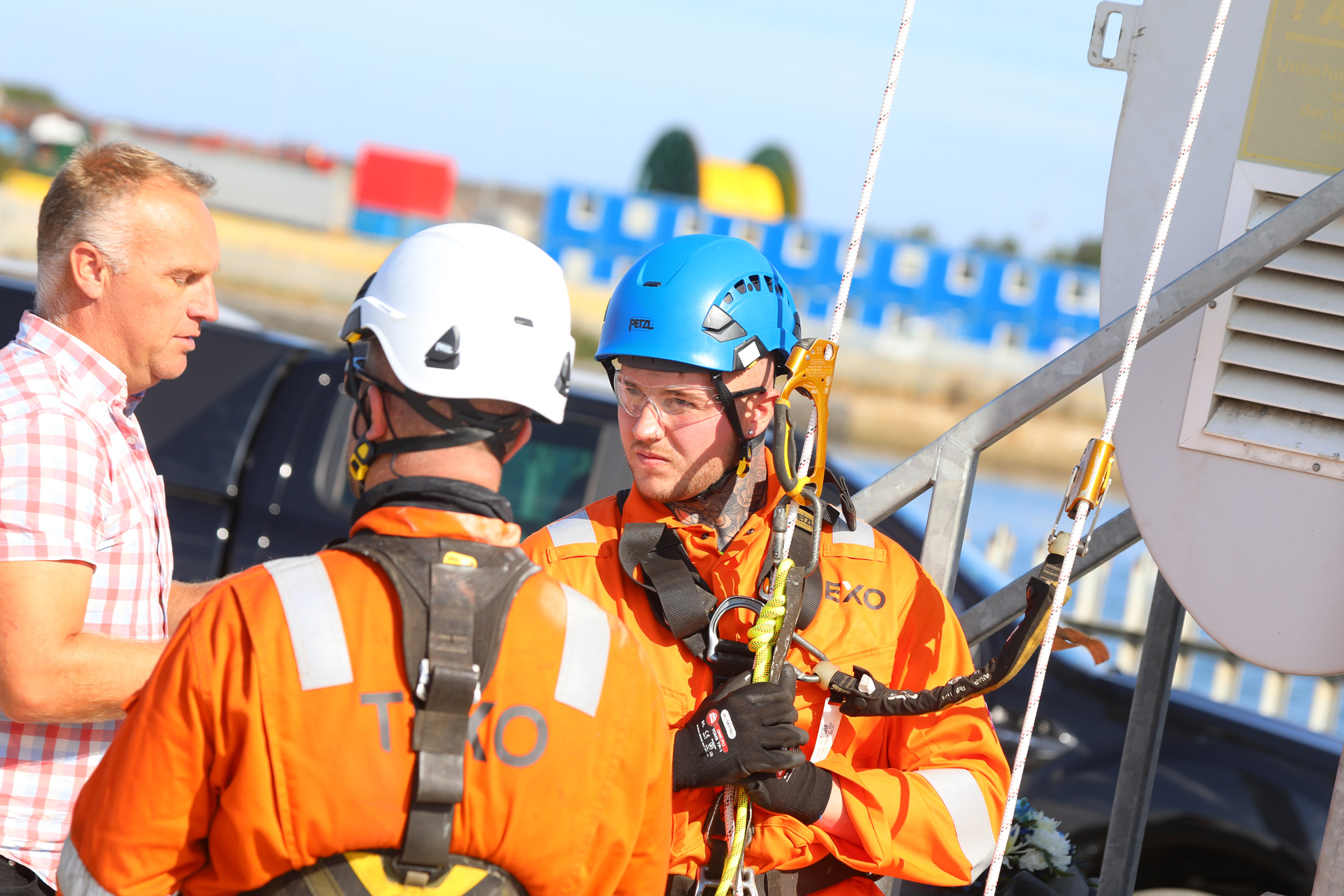£1m Wind Turbine Training Facility Opens at Port of Blyth